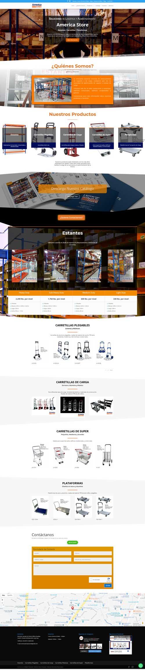 Comercio Electrónico - America Store