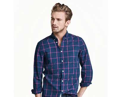 product blue shirt